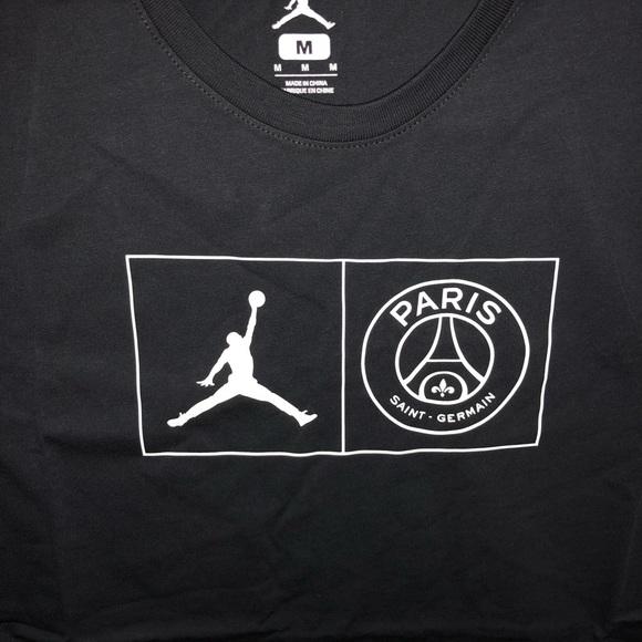 bceaab81c5aaf4 Psg shirt. NWT. Jordan